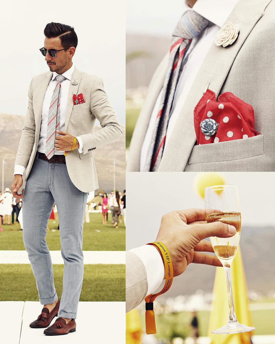 Suit And Accessories Combinations For Men