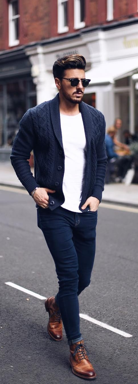 Trendy Cardigan Outfit Ideas For Men