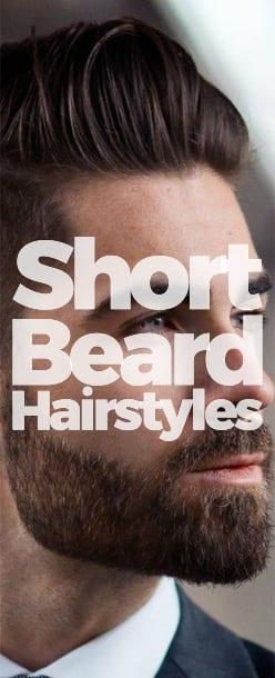 short beard hairstyles men