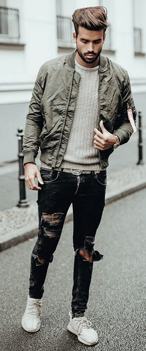 Cool Sweater Outfit Ideas For Men
