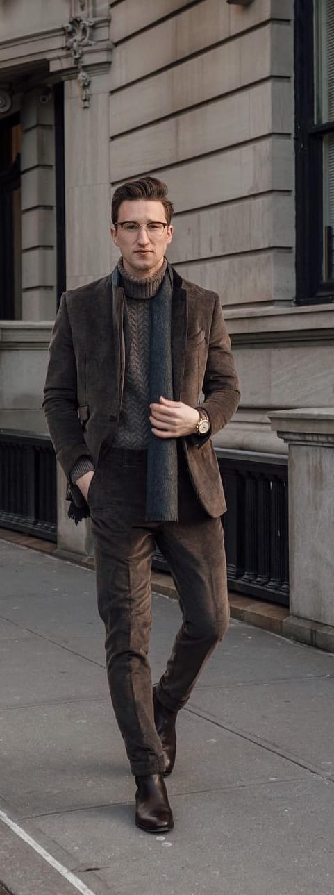 Formal Sweater Outfit Ideas For Men