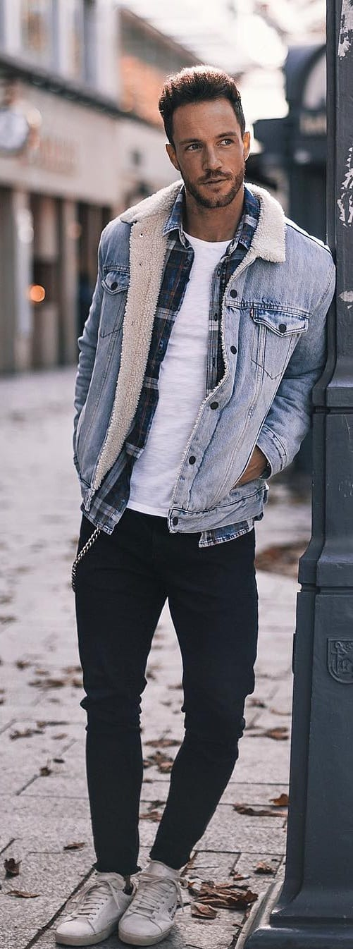 Trendy Plaid Outfit Ideas For Men