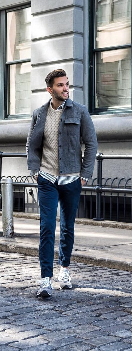 Trendy Sweater Outfit Ideas For Men