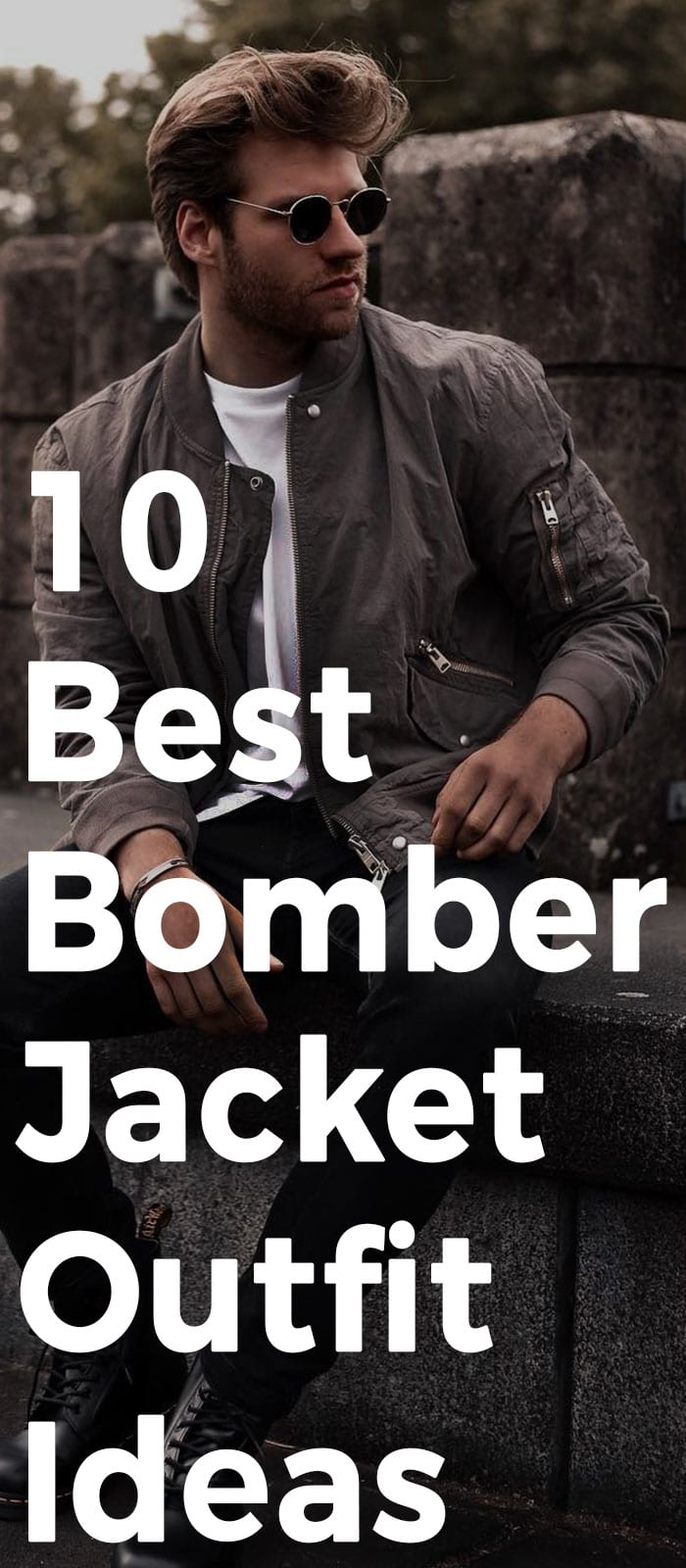 10 Best Bomber Jacket Outfit Ideas