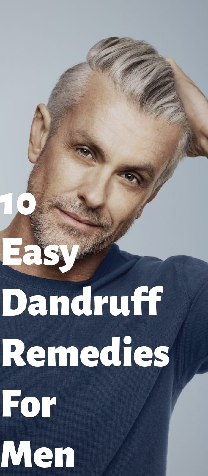 10 Easy Dandruff Remedies For Men (1)
