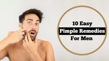 10 Pimple Remedies For Men