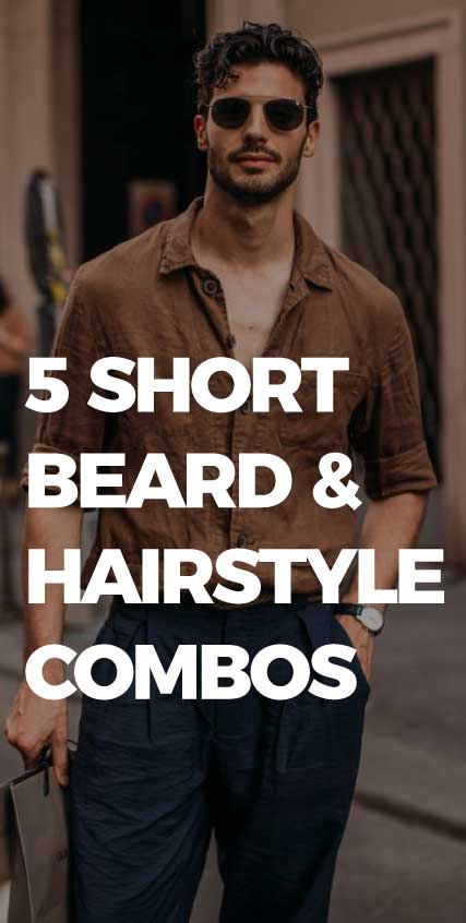 5-short-Beard-&-Hairstyle-Combos