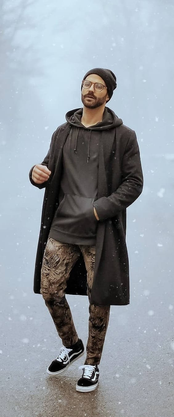 Amazing Hoodie Outfit Ideas For Men