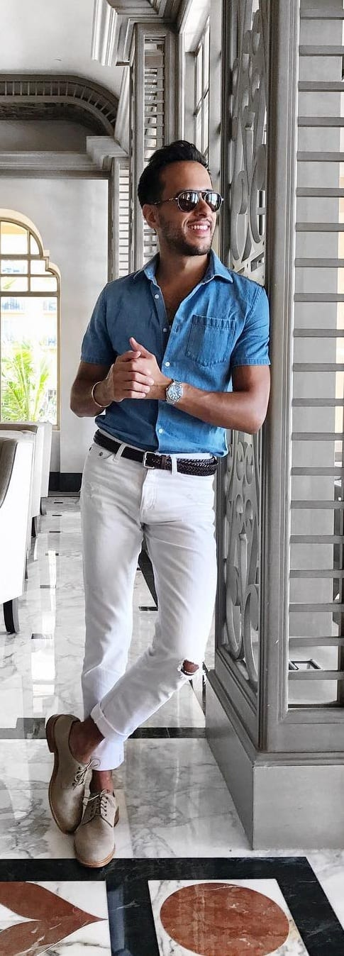 Amazing Tuck In Shirt Outfit Ideas For Men