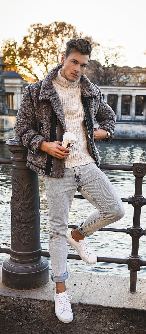 Casual Winter Style Outfit Ideas For Men