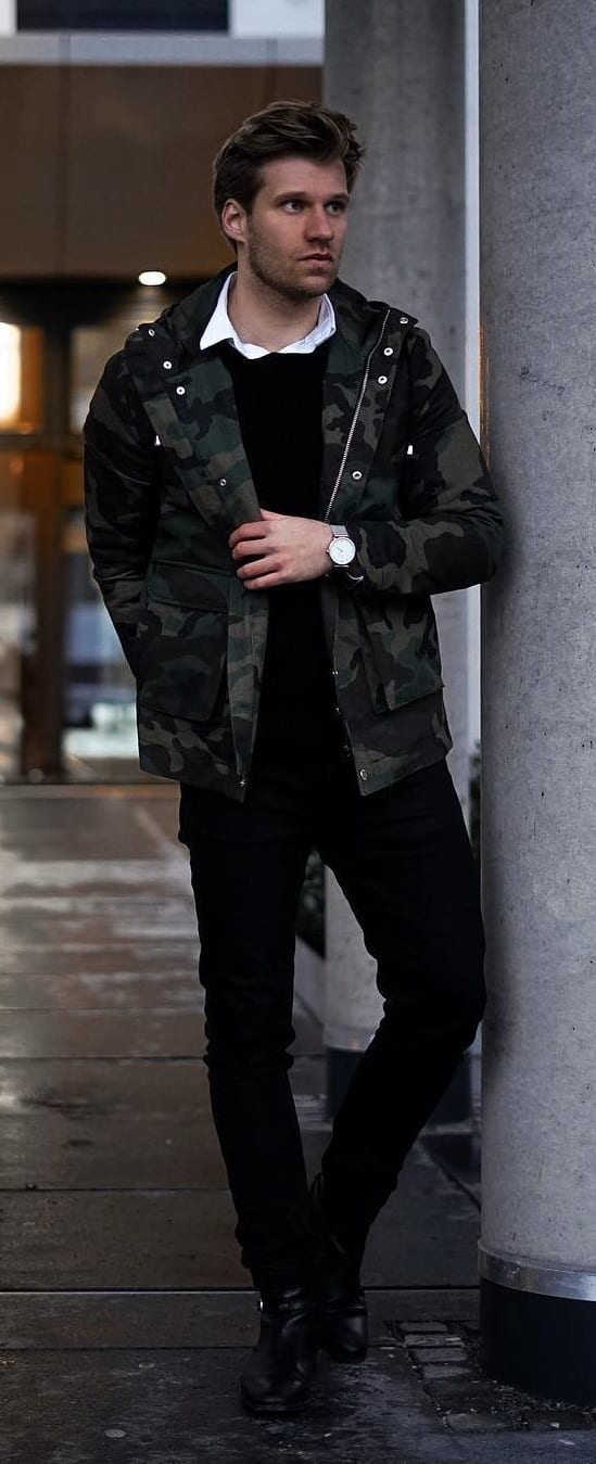 Cool Winter Style Outfit Ideas For Men