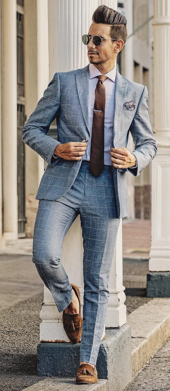 Formal Tuck In Shirt Outfit Ideas For Men