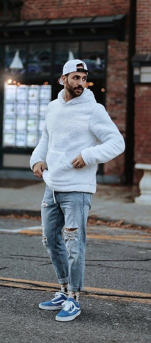 Simple Hoodie Outfit Ideas For Men