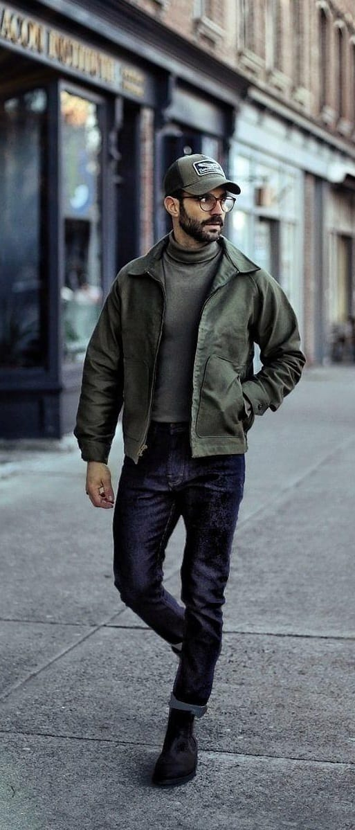 Stunning Bomber Jacket Outfit Ideas For Men