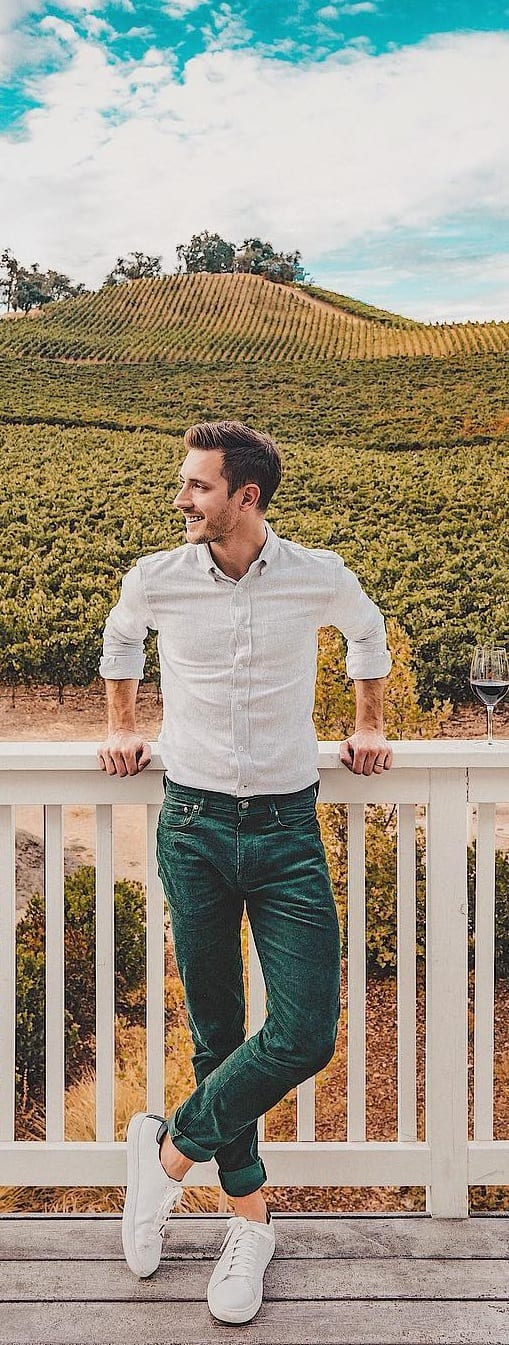 Trendy Tuck In Shirt Outfit Ideas For Men