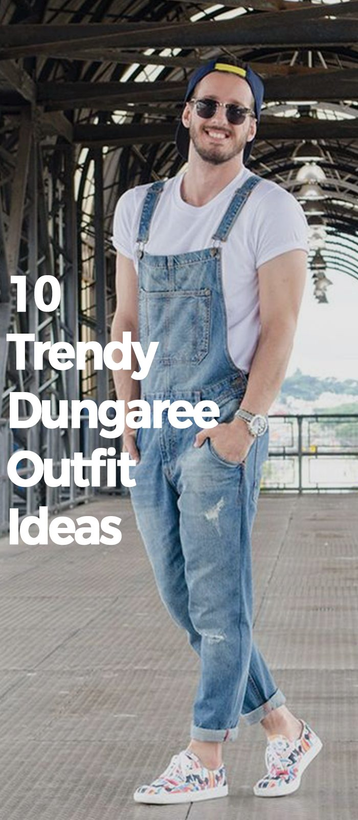10 Dungaree Outfit Ideas To Imitate Right Now!