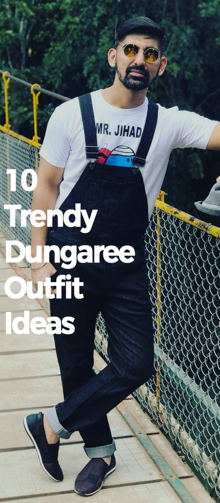 10 Trendy Dungaree Outfit Ideas