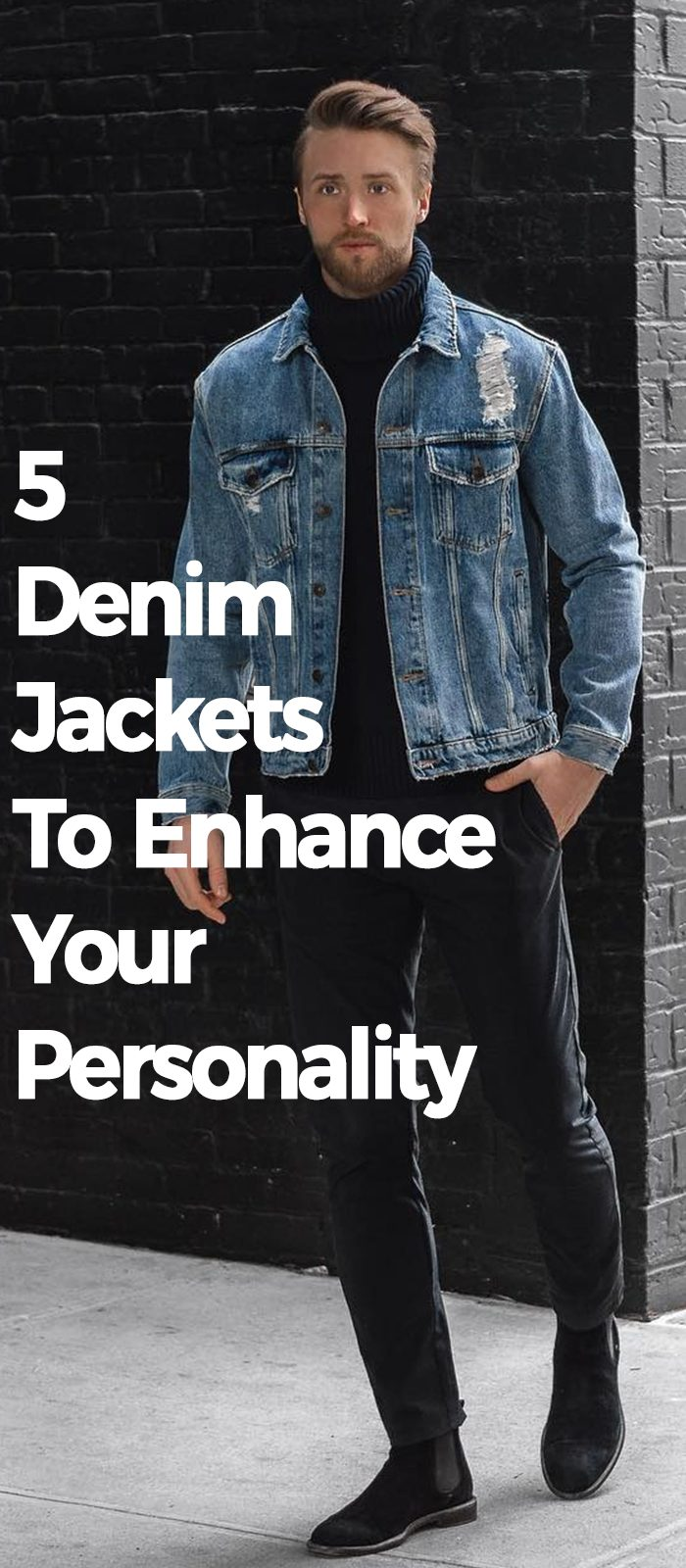 5 Denim Jackets To Enhance Your Personality