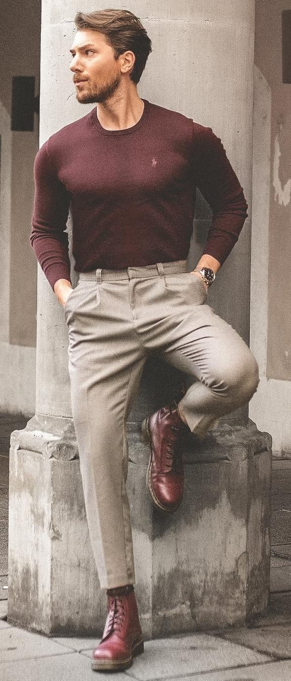 Amazing Crew Neck Outfit Ideas For Men