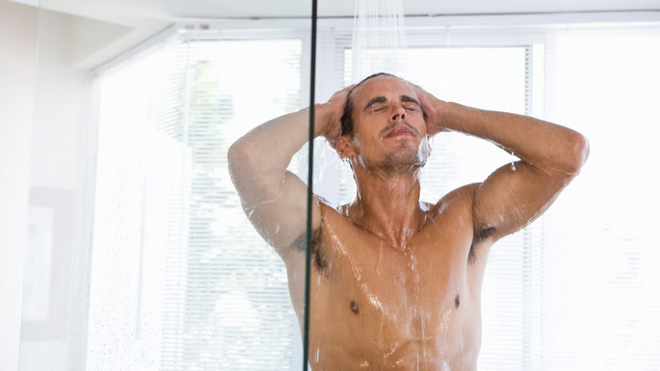 Grooming Mistakes- Taking To Hot Showers