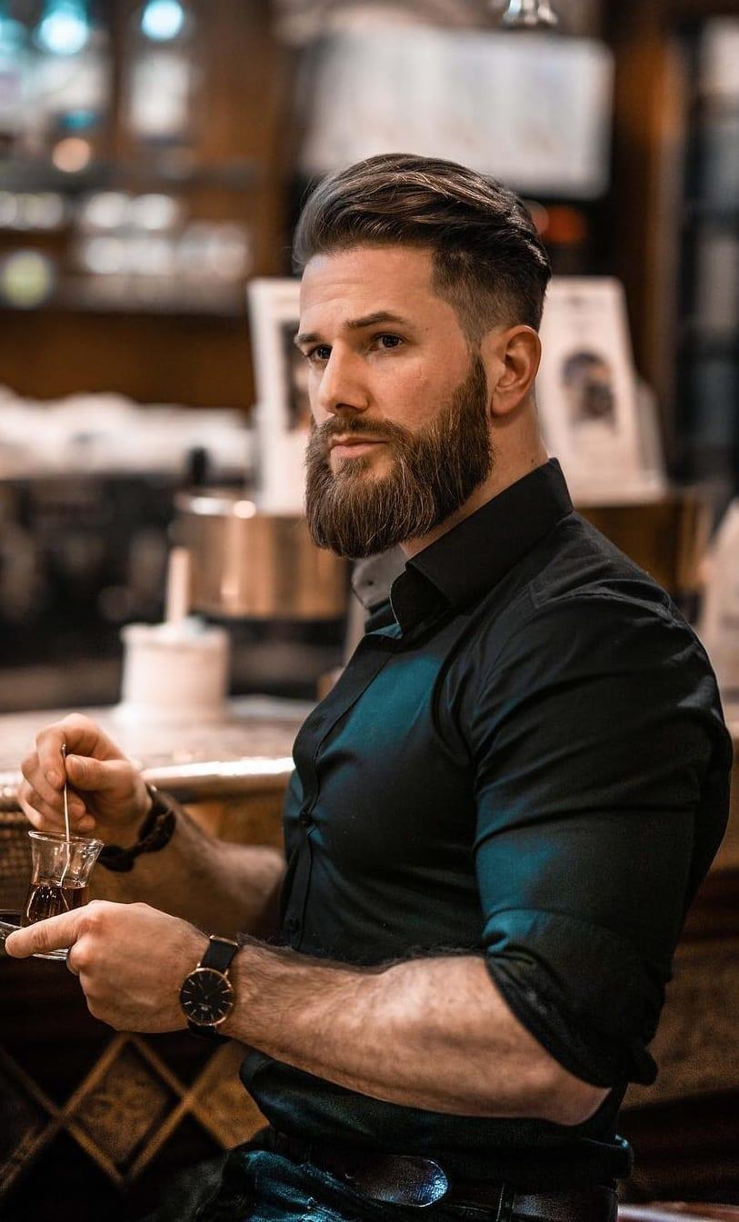 Medium Haircut For Men