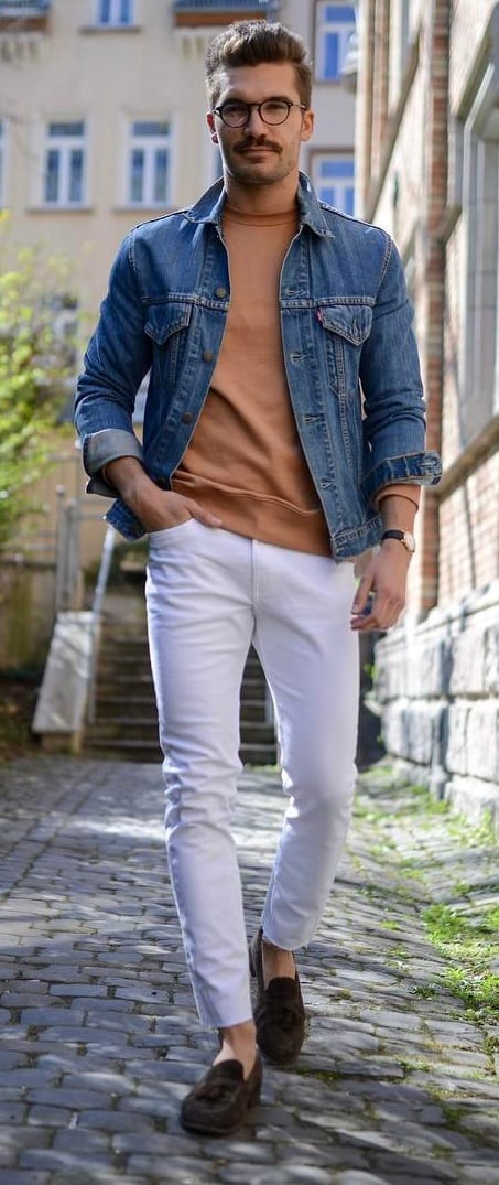 Stunning Denim Jacket Outfit Ideas For Men Best Fashion Blog For