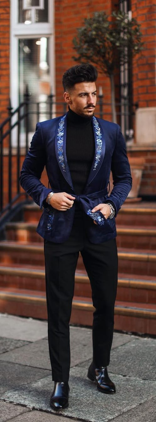 Stunning Turtle Neck Outfit Ideas For Men This Season
