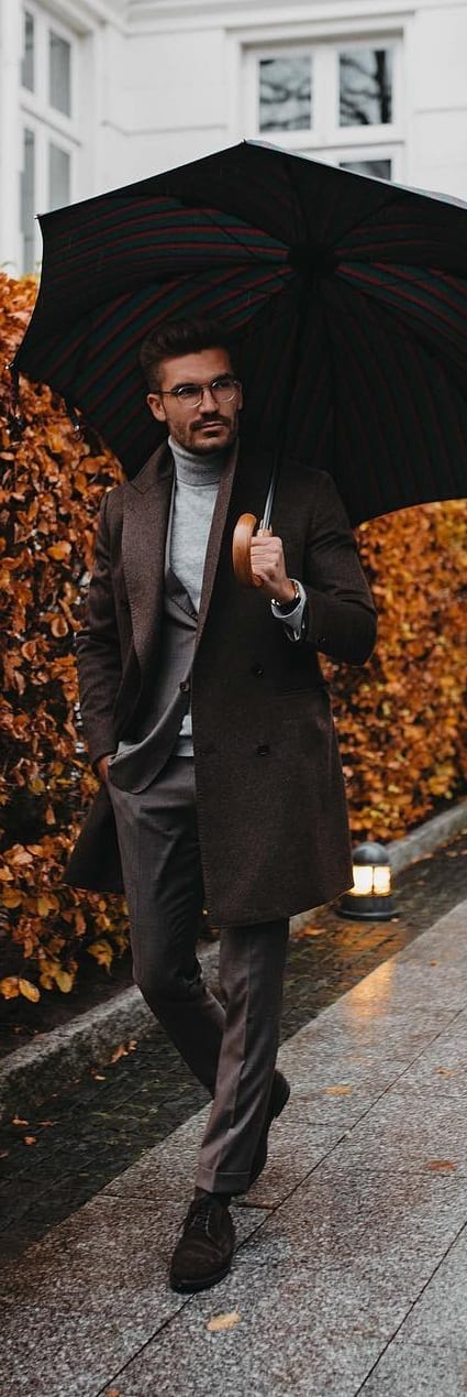 Stylish Turtle Neck Outfit Ideas For Men This Season