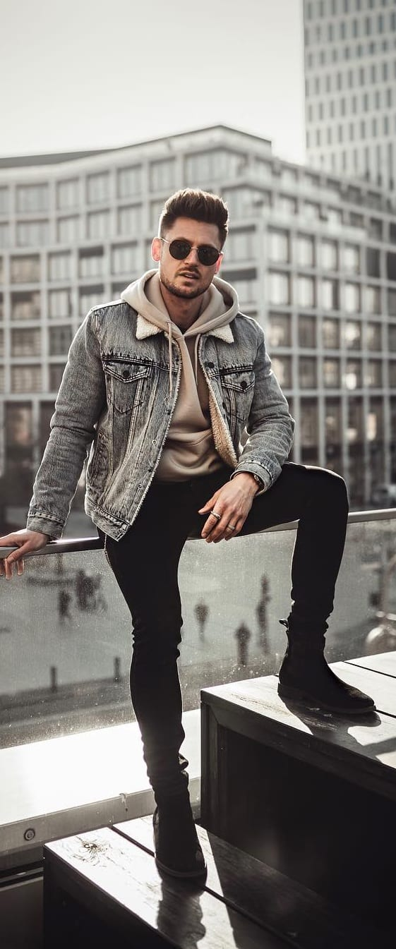 Trendy Denim Jacket Outfit Ideas For Men This Year Best Fashion