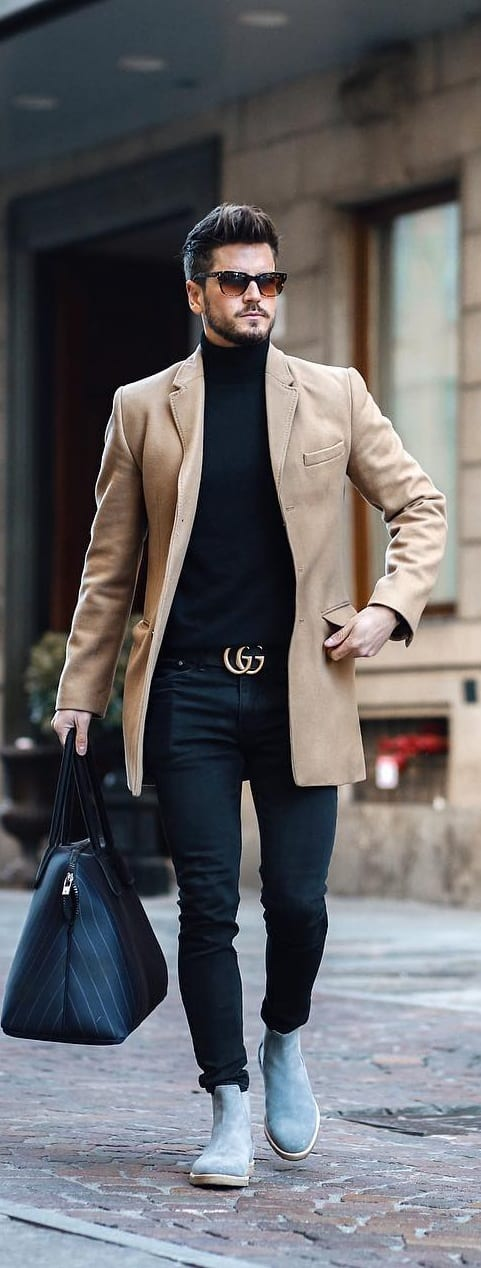 Turtle Neck Outfit Ideas For Men This Year