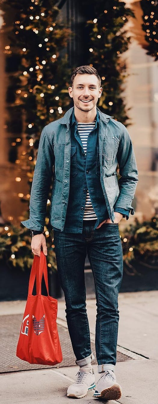 Stylish Street Style Outfit Ideas For Men