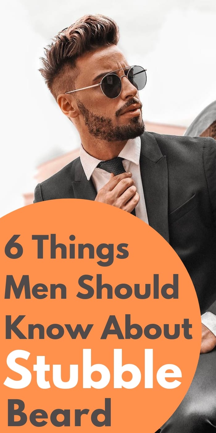 6 Things Men Should Know About Stubble Beard