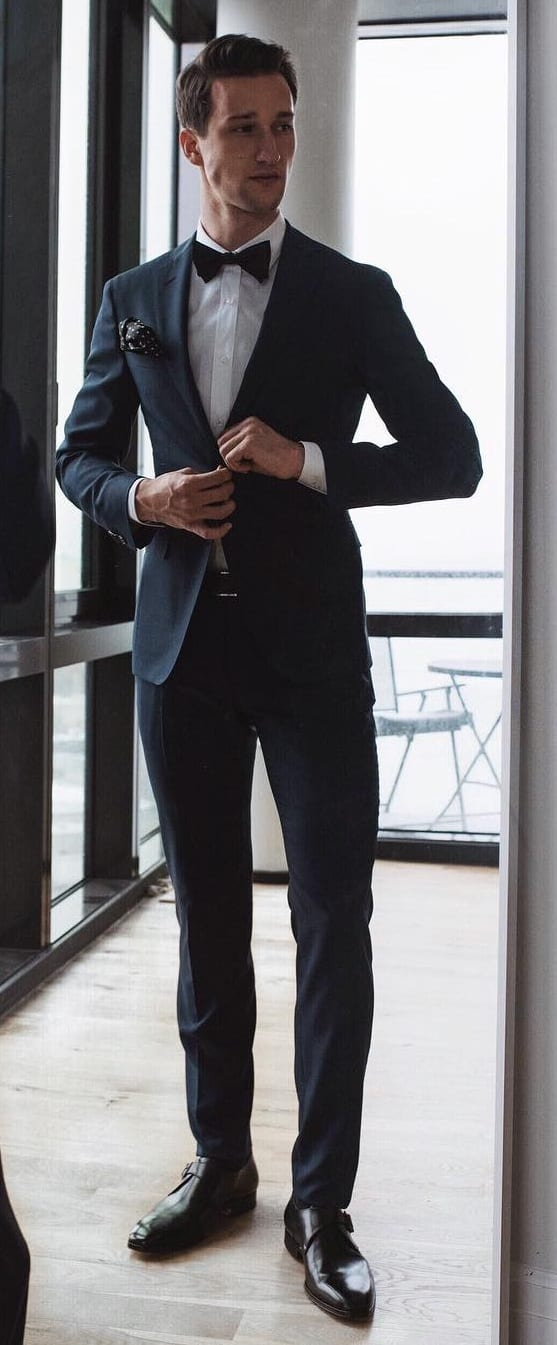 Black Suit Outfit Ideas For Men This Year