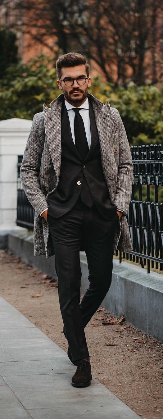Black Suit Outfit Ideas For Men