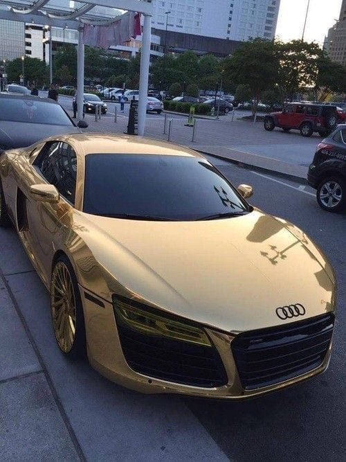GOLDEN AUDI FOR WOMEN