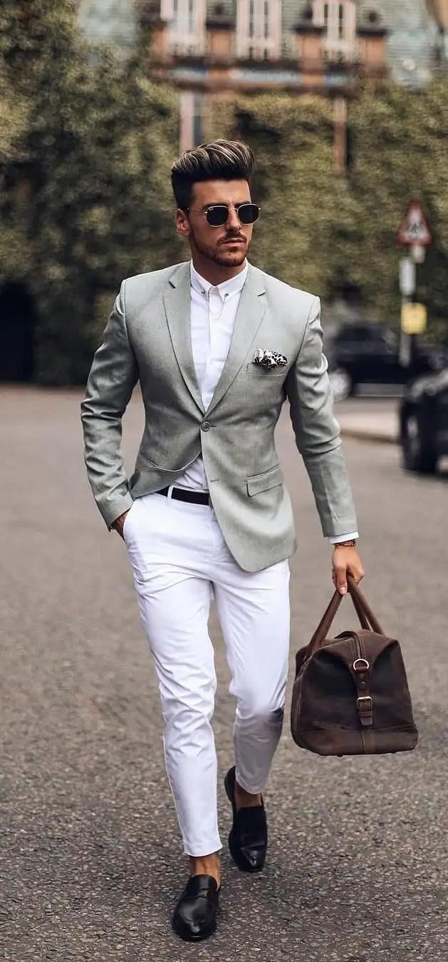 Pastel Suits Outfit Ideas For Men