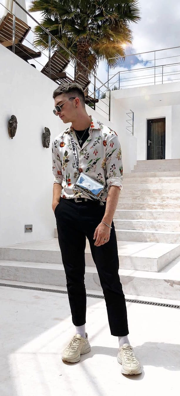 Stylish Short Sleeve Printed Shirts For Men In 2019