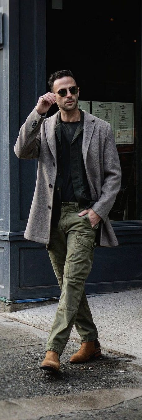 Work Pants Outfit Ideas For Men