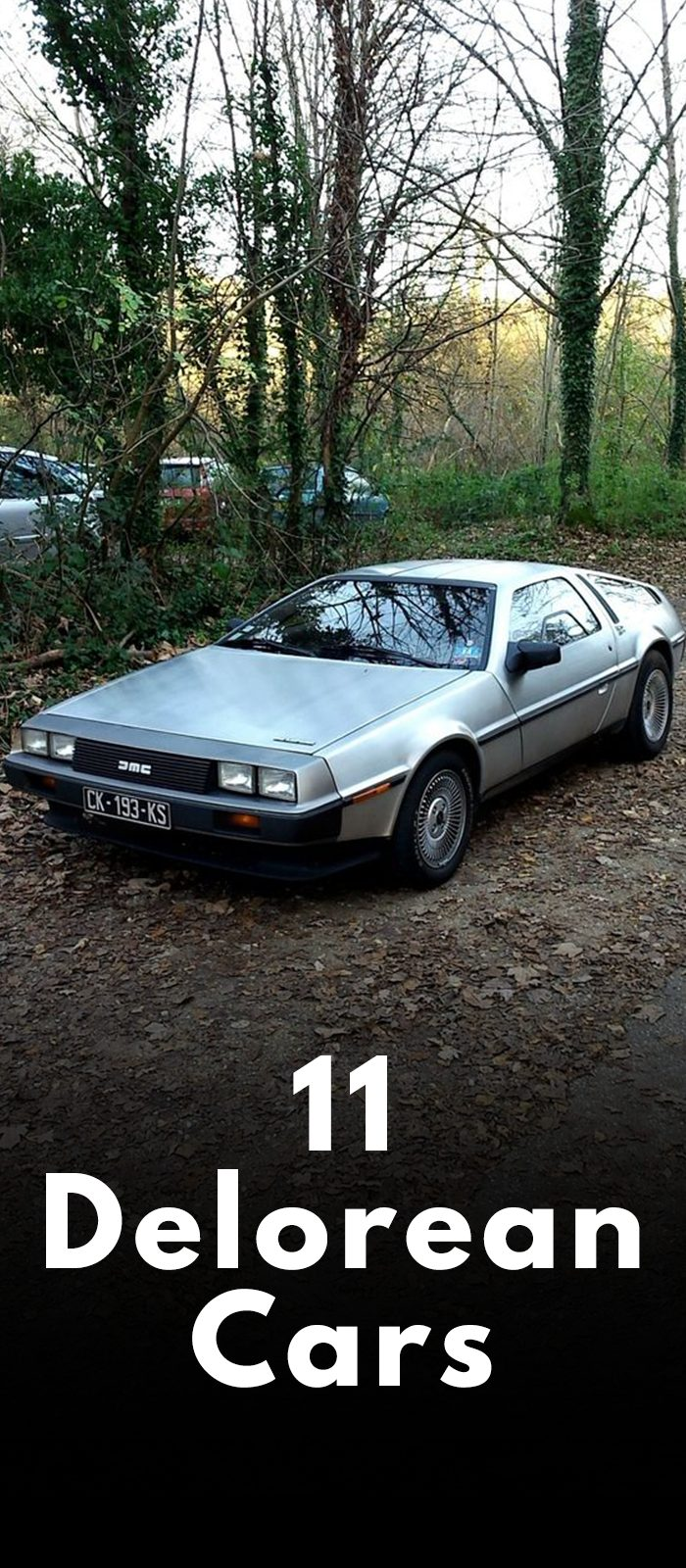 11 DELOREAN CARS