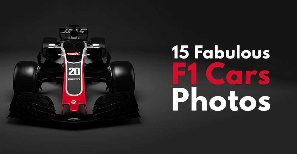 15 Fabulous F1 Car Photos