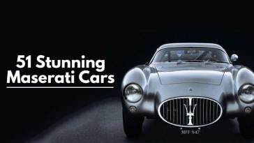 51 Stunning Maserati Cars