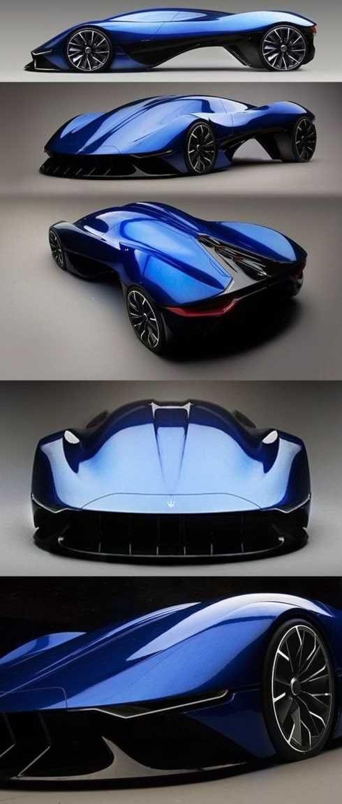 Blue Concept Cars