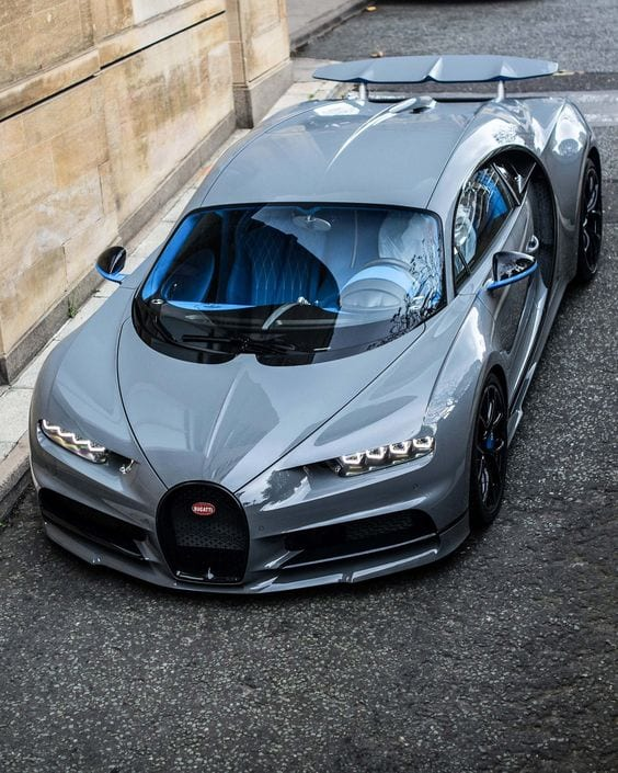 Bugatti Chiron GREY CHROME