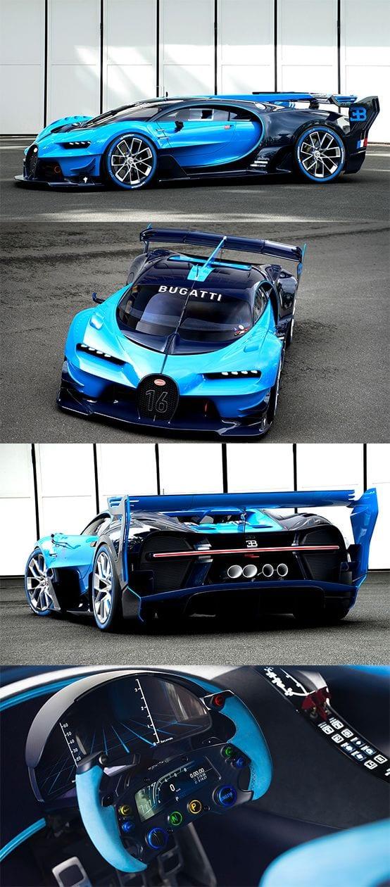 Bugatti Vision Gran Turismo SUPERCAR