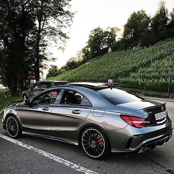 CLA 45 AMG MERCEDES COUPE