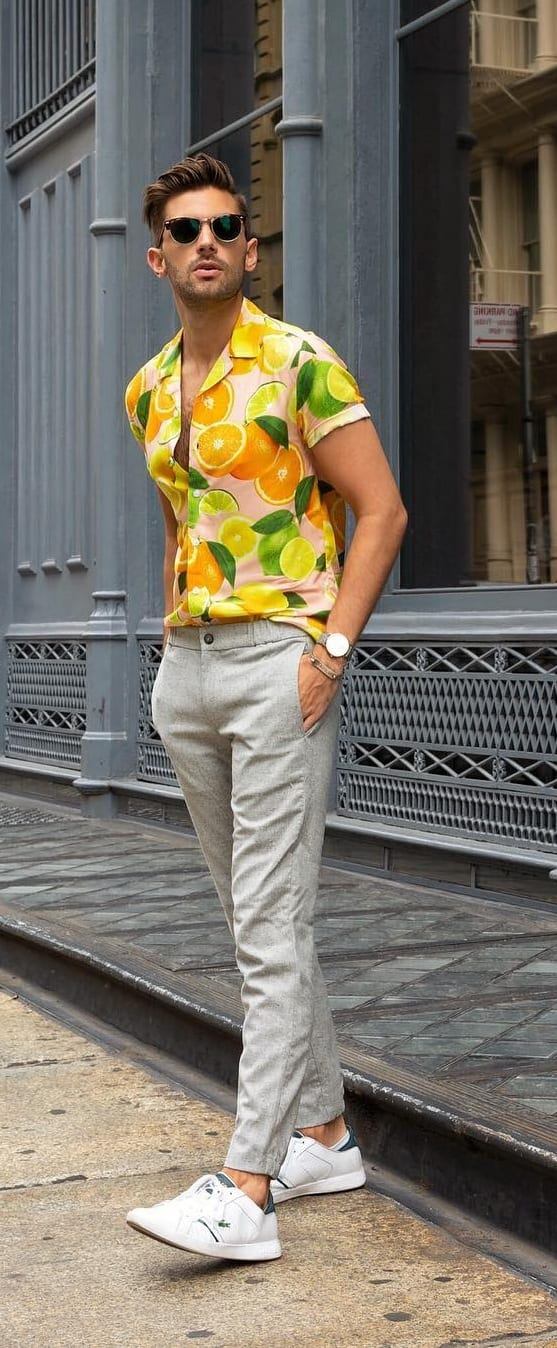 Cool Hawaiian Outfit Ideas For Men