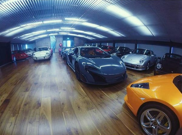 DREAM GARAGE FOR EXOTIC CARS IN THE HOUSE