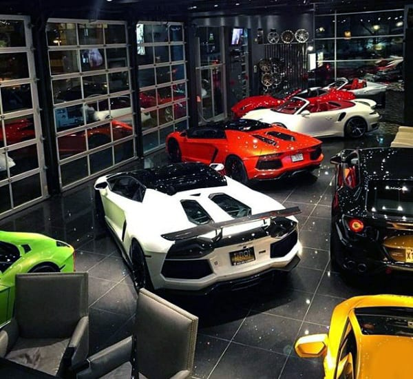 DREAM GARAGE FOR EXOTIC CARS