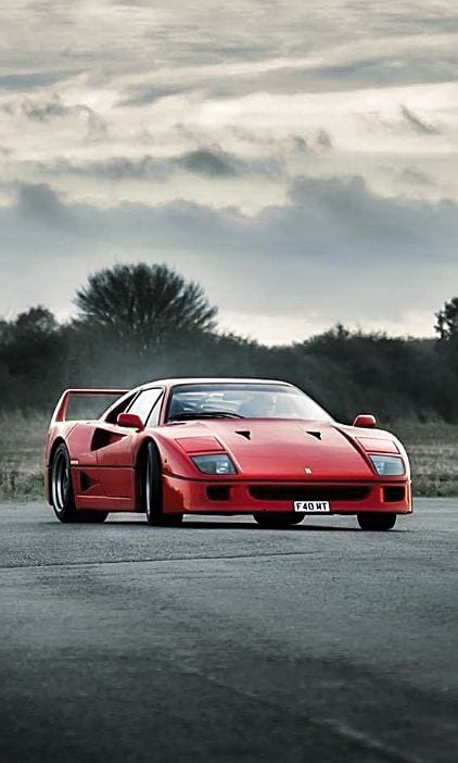 FERRRAI F40 WALLPAPER