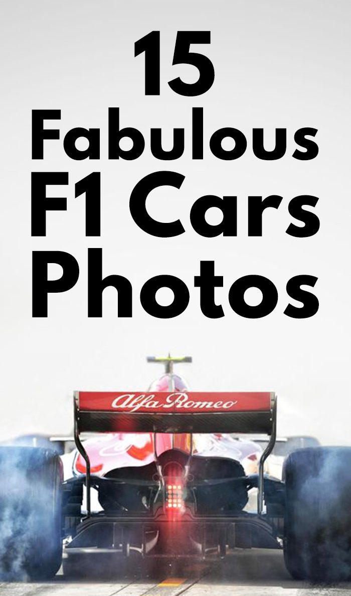 Fabulous F1 Cars Photos